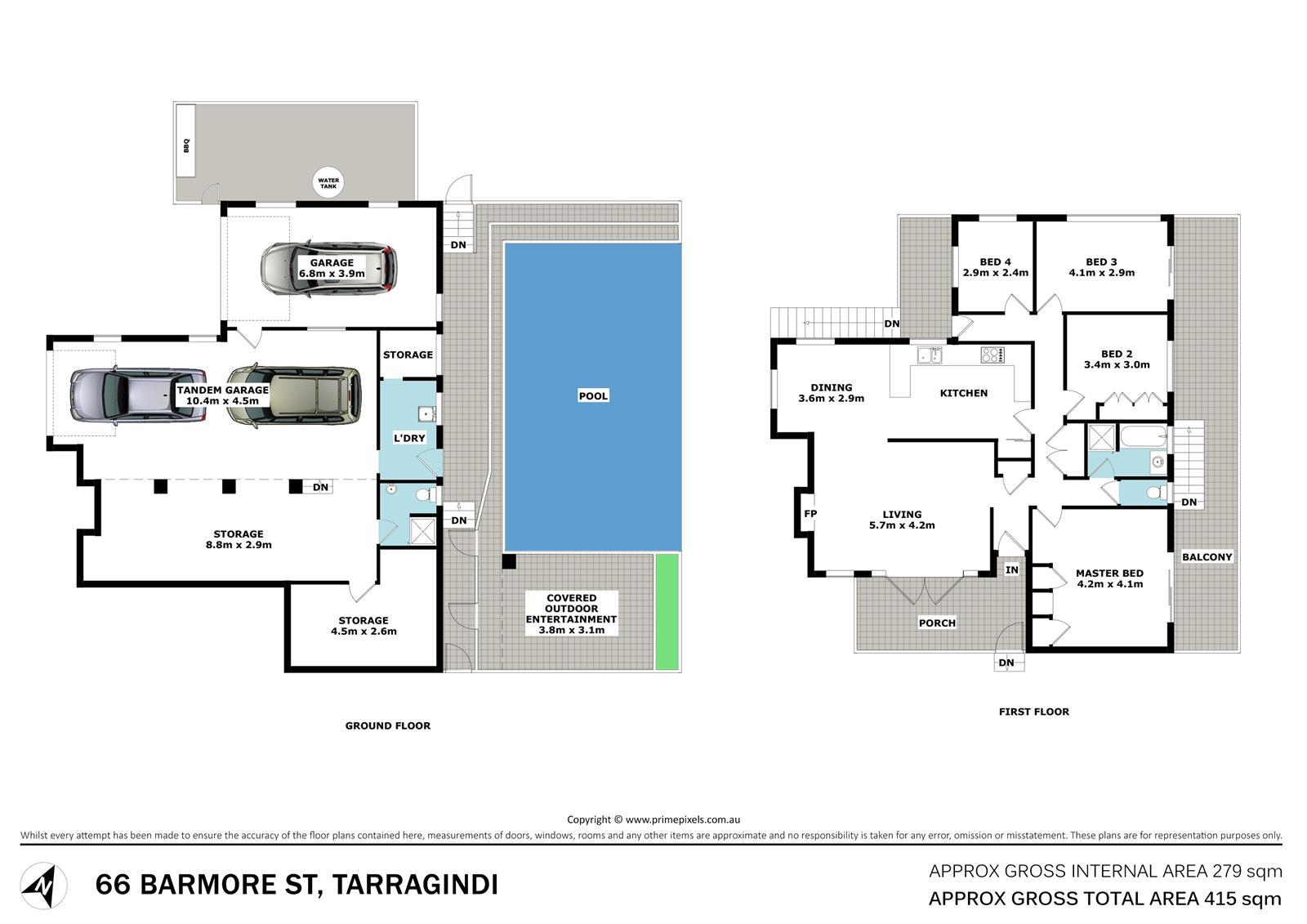 12 Garioch St Tarragindi QLD 4121 Floorplan 1