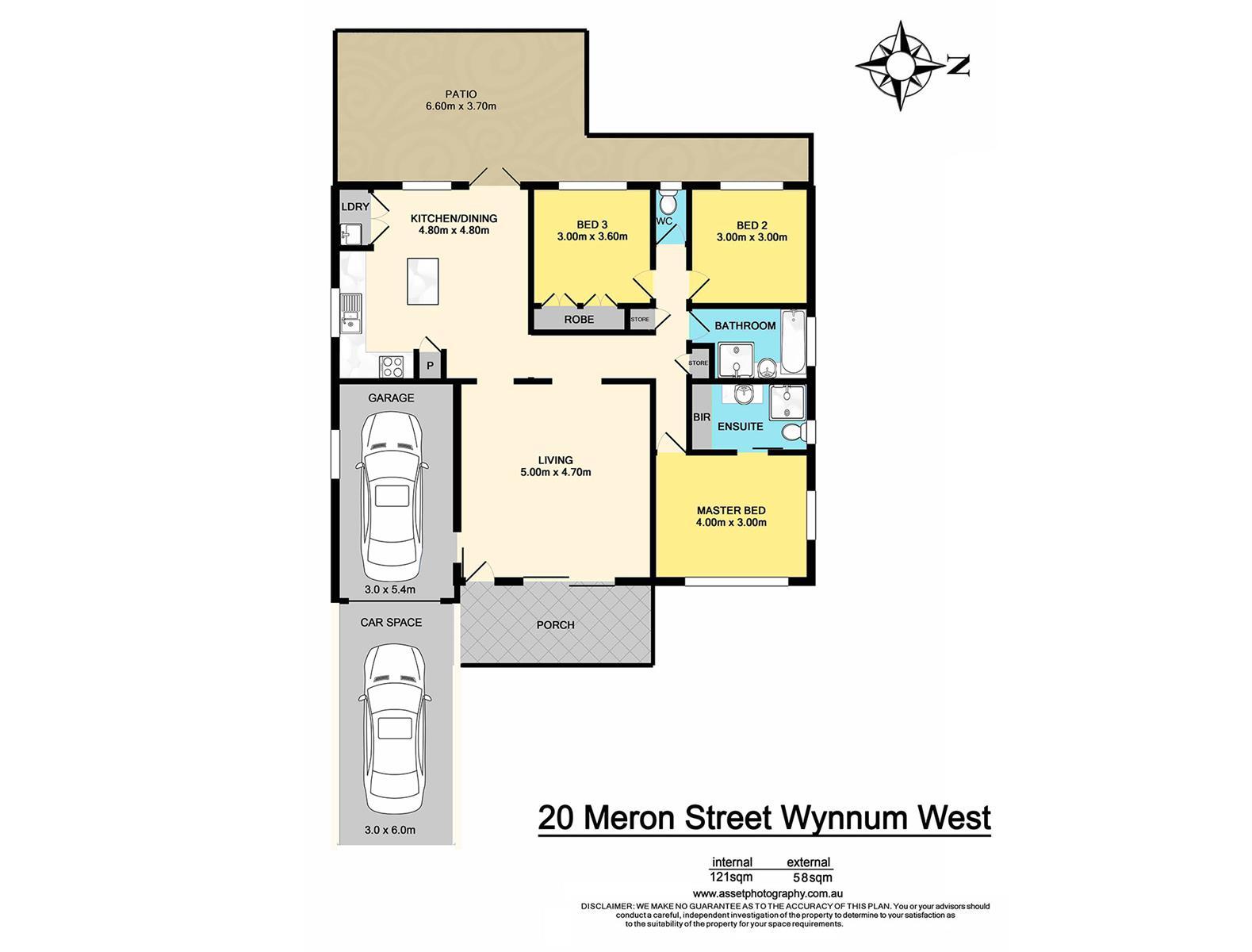 20 Meron St WYNNUM WEST QLD 4178 Floorplan 1