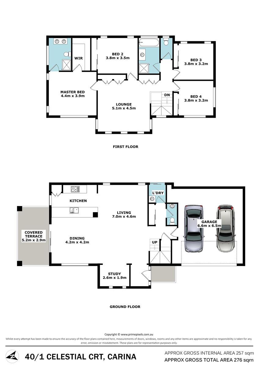 40 Nova Place CARINA QLD 4152 Floorplan 1