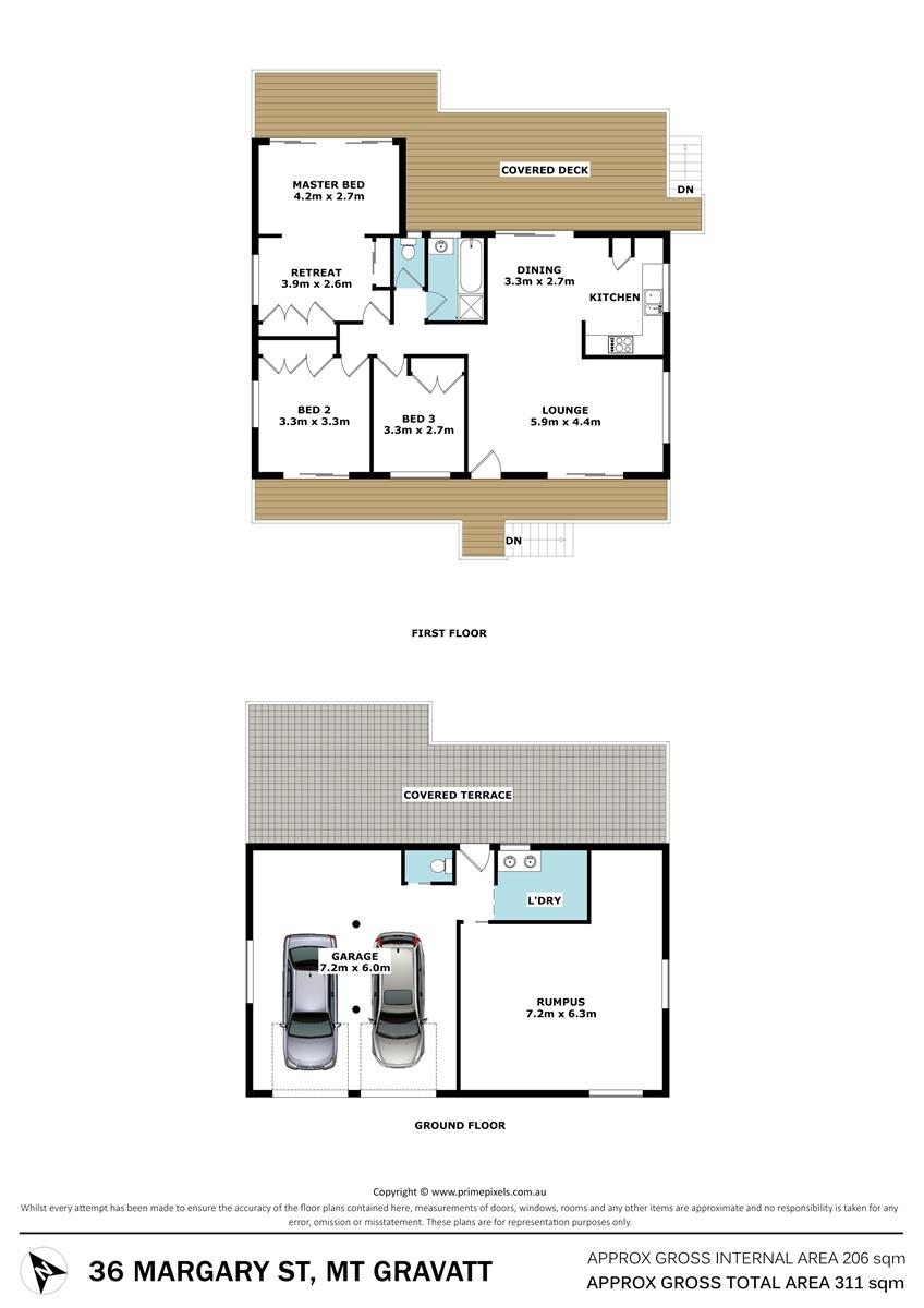 36 Margary Street MOUNT GRAVATT QLD 4122 Floorplan 1