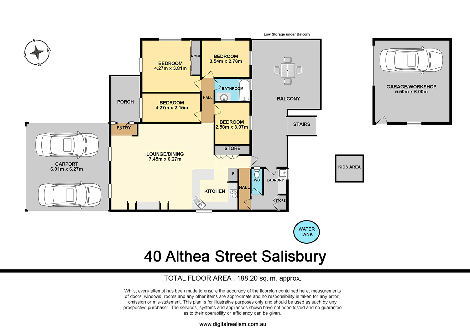 40 Althea St SALISBURY QLD 4107 Floorplan 1