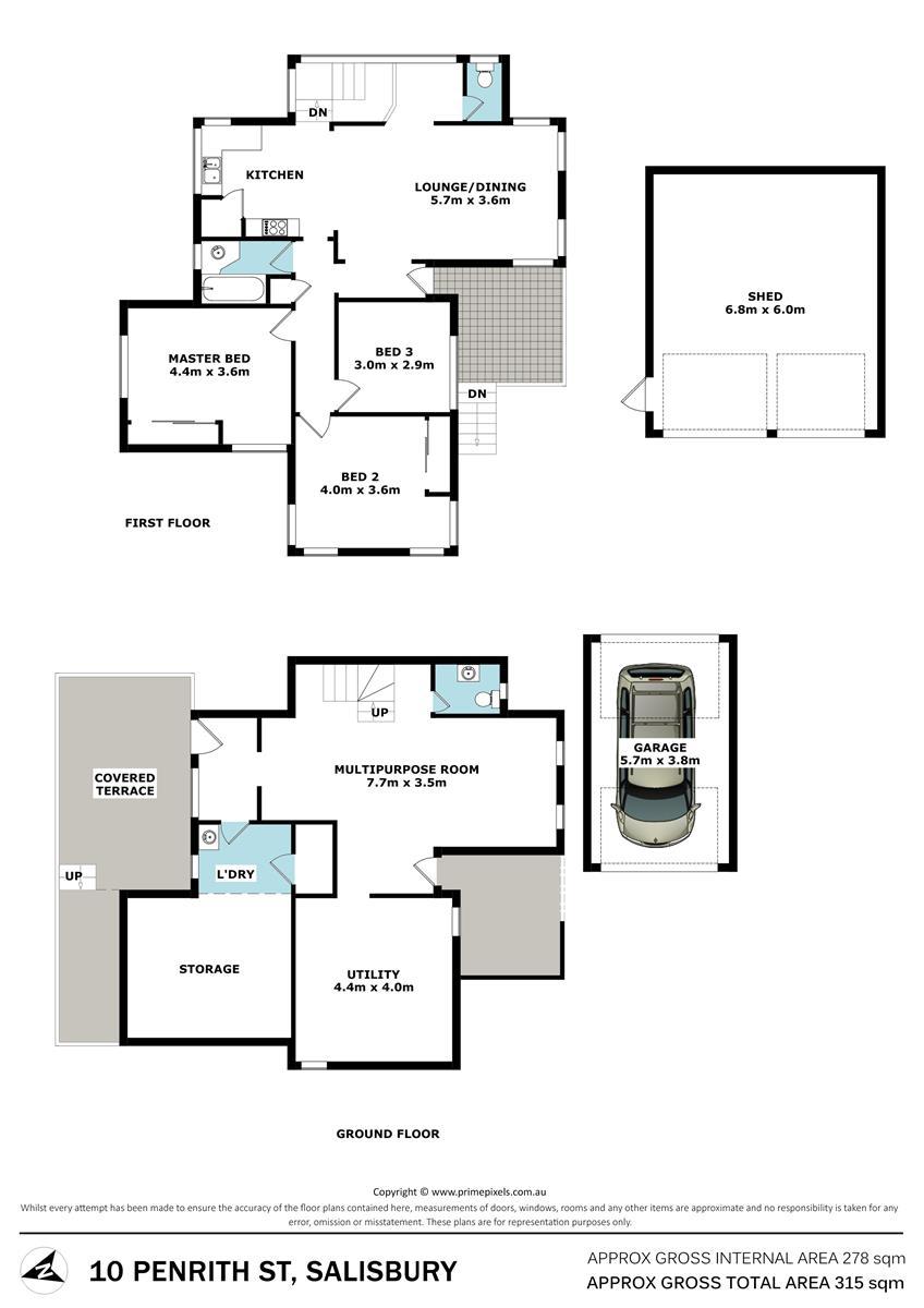 10 Penrith St SALISBURY QLD 4107 Floorplan 1