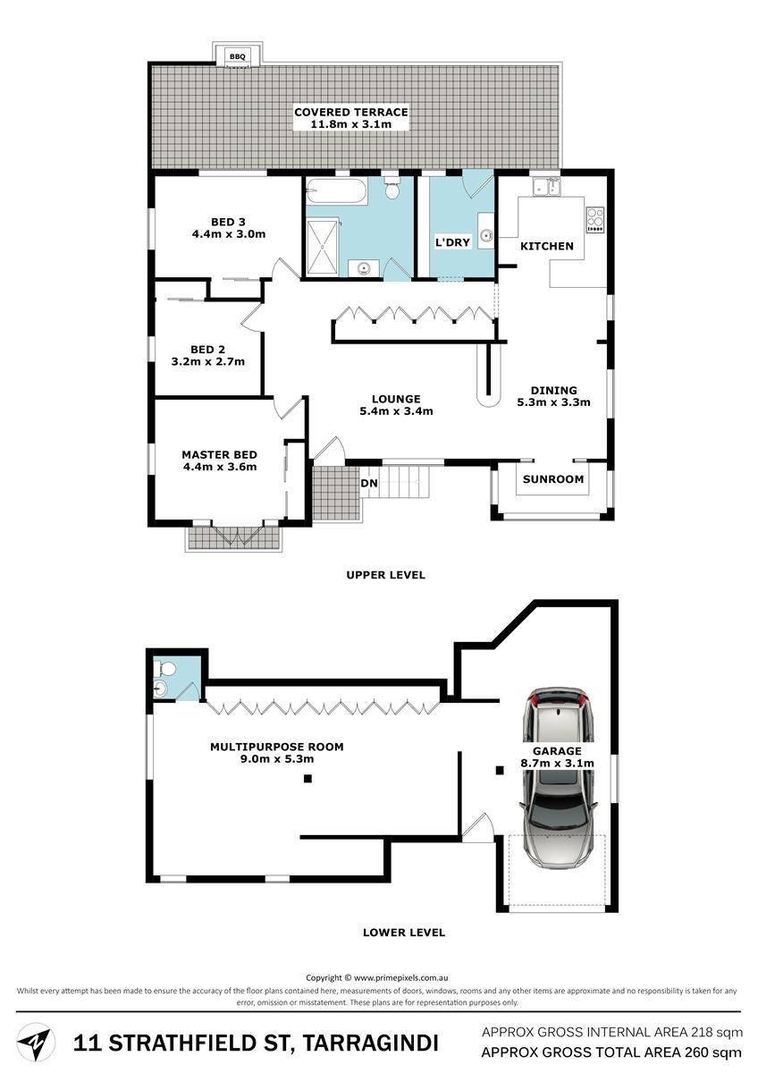 11 Strathfield St TARRAGINDI QLD 4121 Floorplan 1