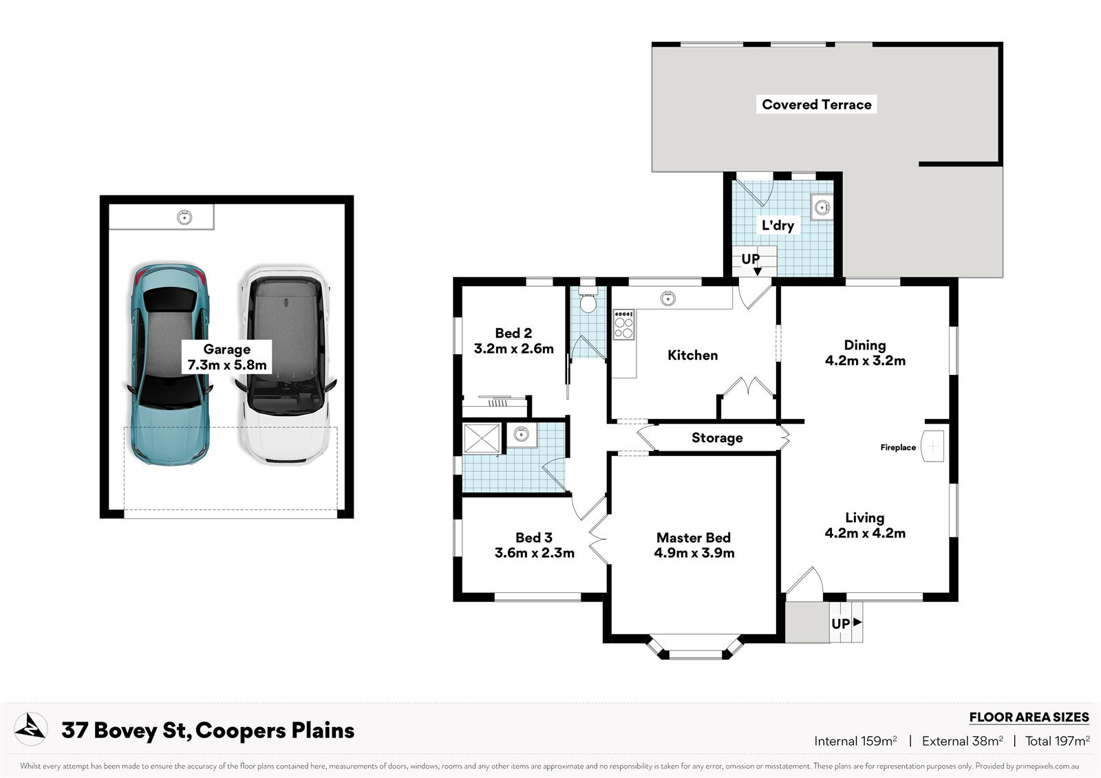 37 Bovey St COOPERS PLAINS QLD 4108 Floorplan 1