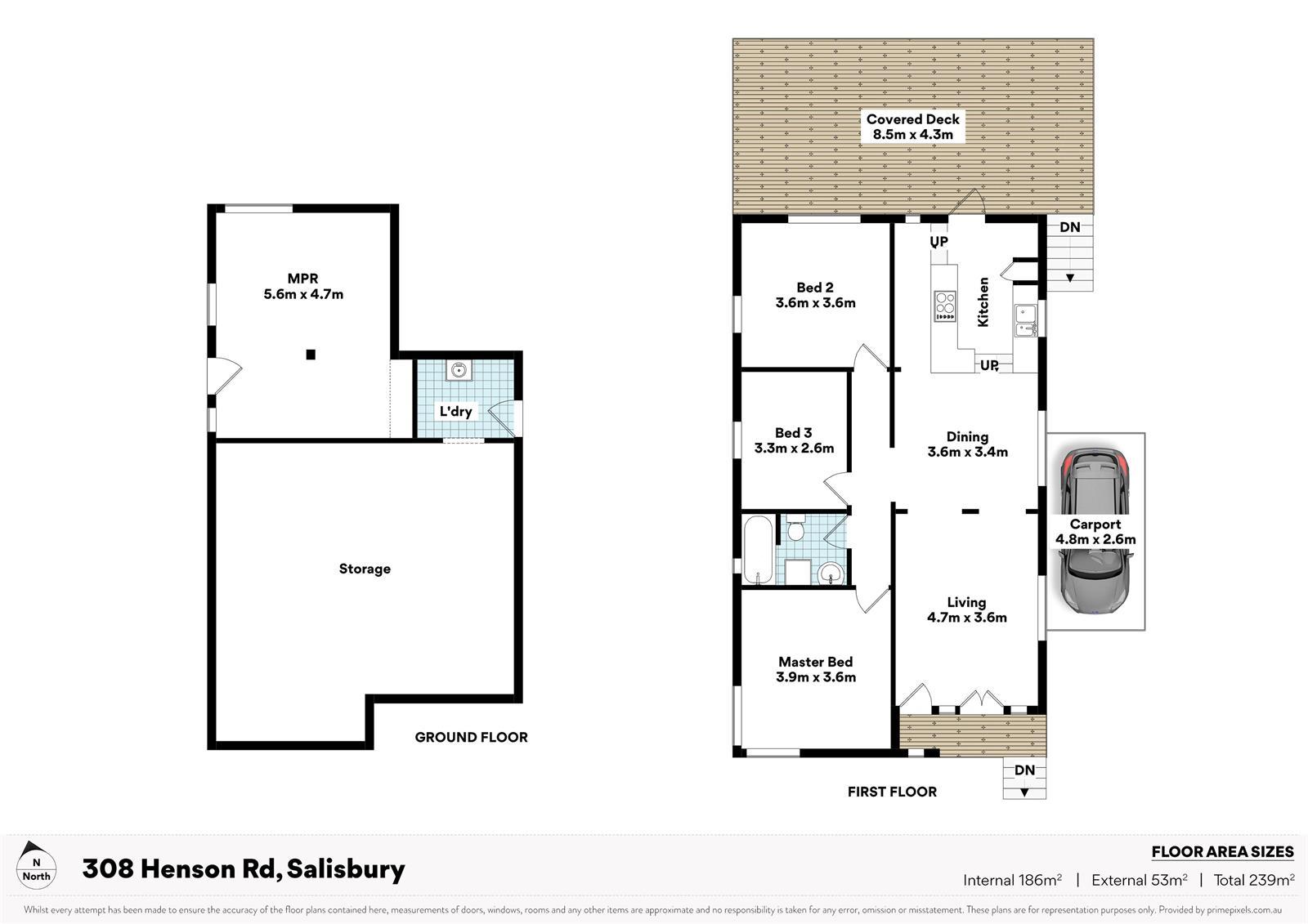 308 Henson Rd SALISBURY QLD 4107 Floorplan 1
