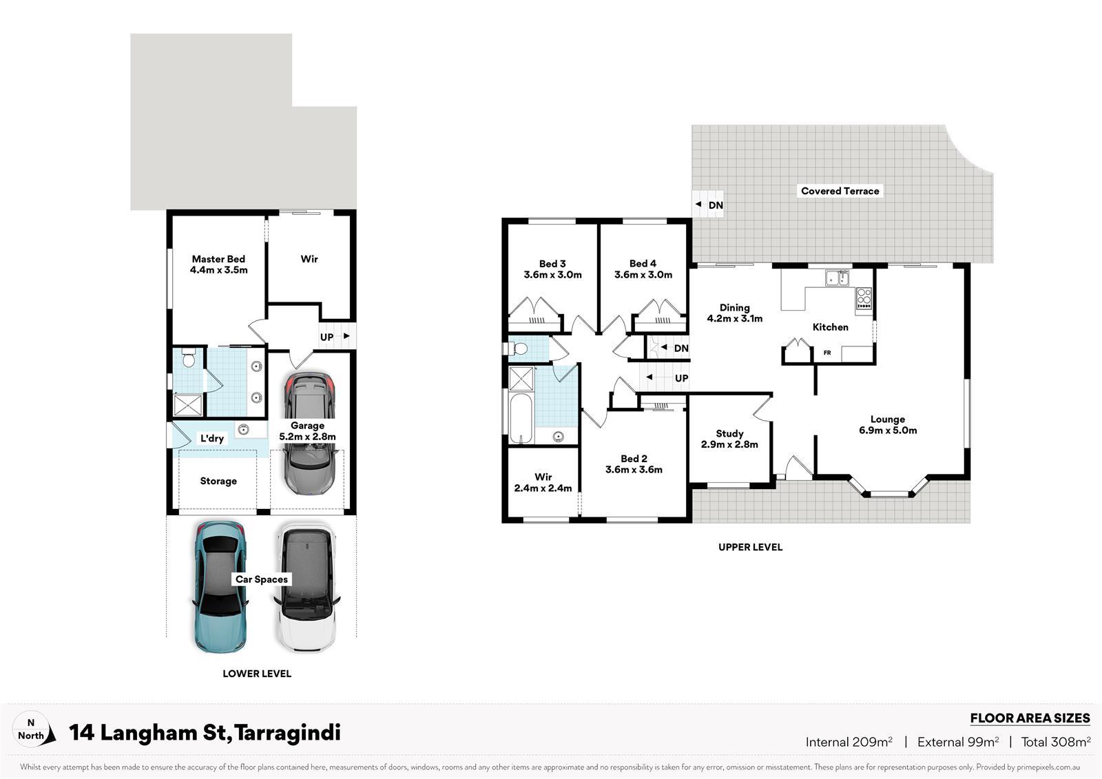 14 Langham St TARRAGINDI QLD 4121 Floorplan 1