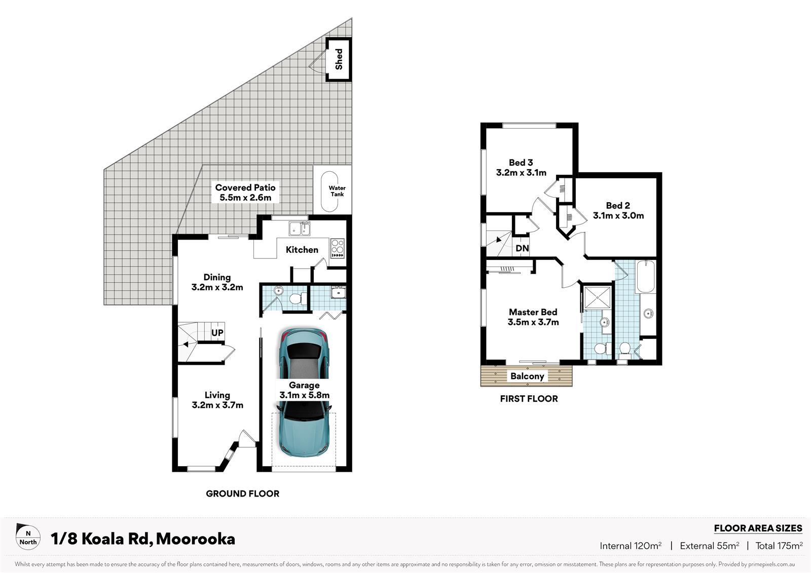 1 / 8 Koala Road MOOROOKA QLD 4105 Floorplan 1