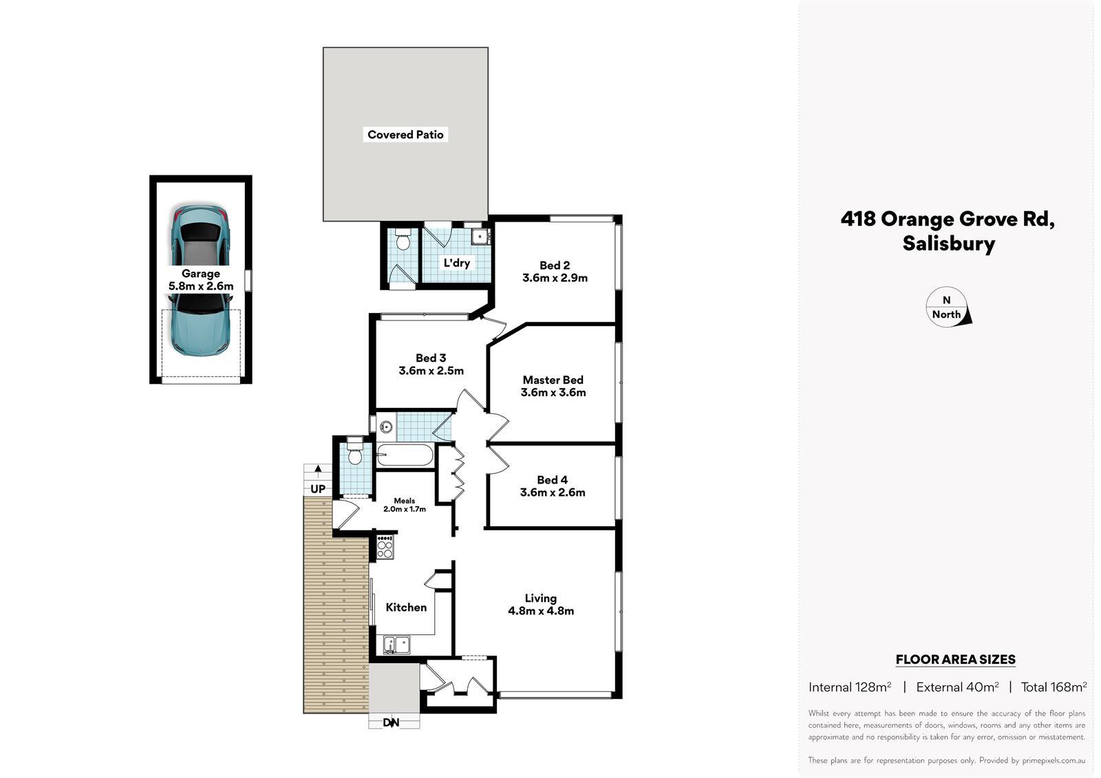418 Orange Grove Rd SALISBURY QLD 4107 Floorplan 1