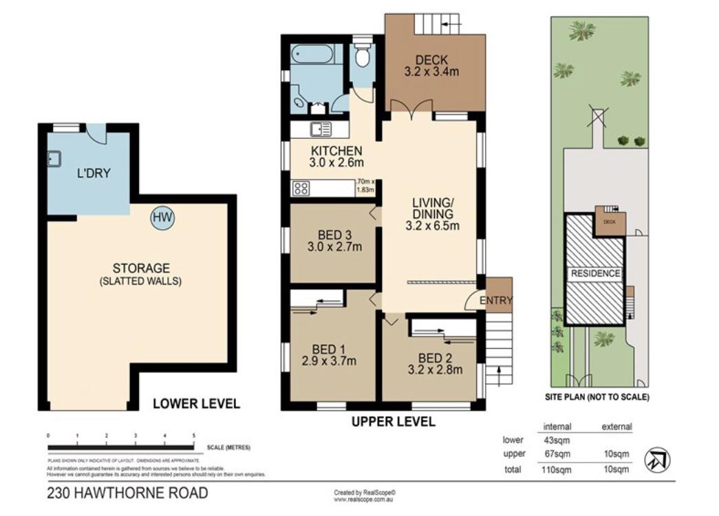 230 Hawthorne Rd HAWTHORNE QLD 4171 Floorplan 1