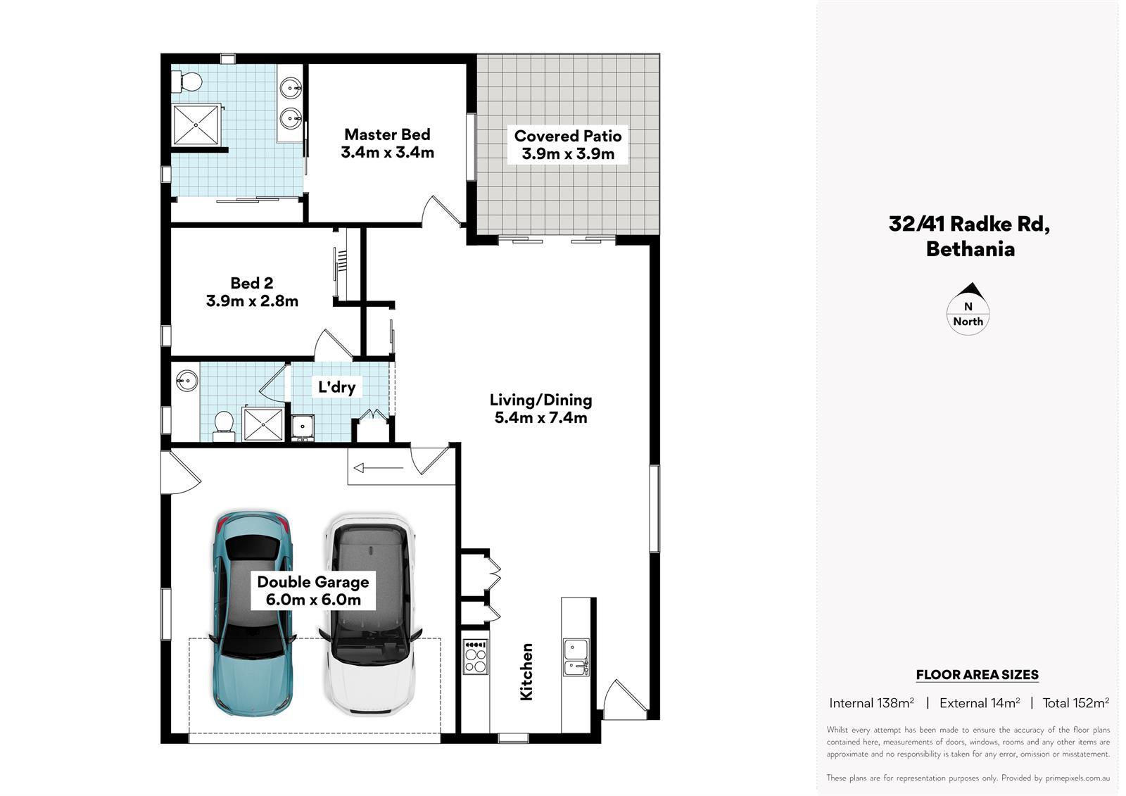 32 / 41 Radke Road BETHANIA QLD 4205 Floorplan 1