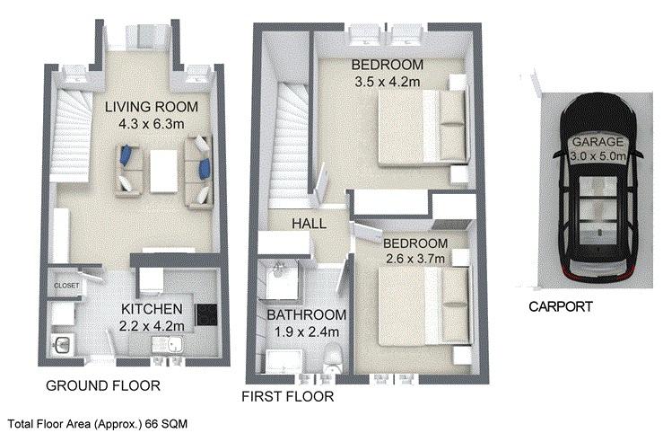 48 / 39  Garfield Road WOODRIDGE QLD 4114 Floorplan 1