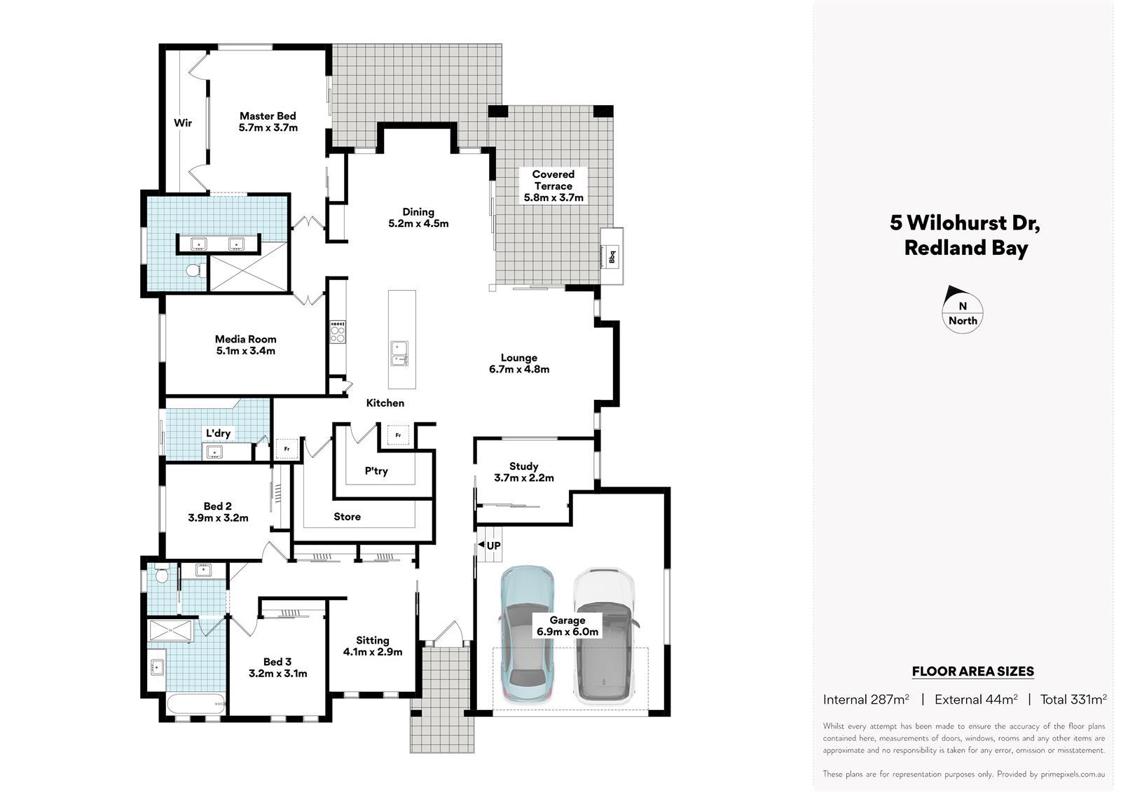 5 Wilohurst Dr Redland Bay QLD 4165 Floorplan 1