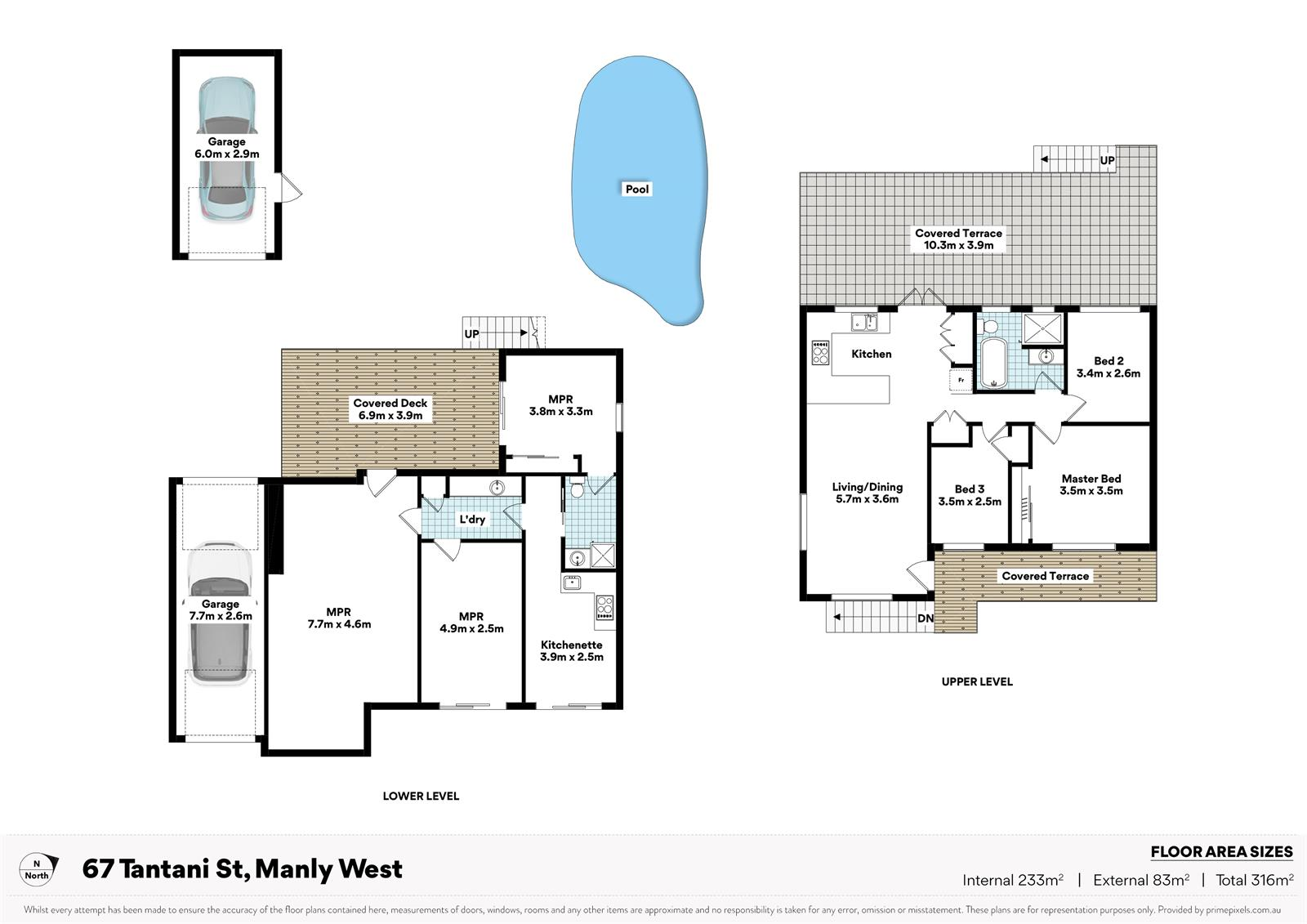 67  Tantani St MANLY WEST QLD 4179 Floorplan 1