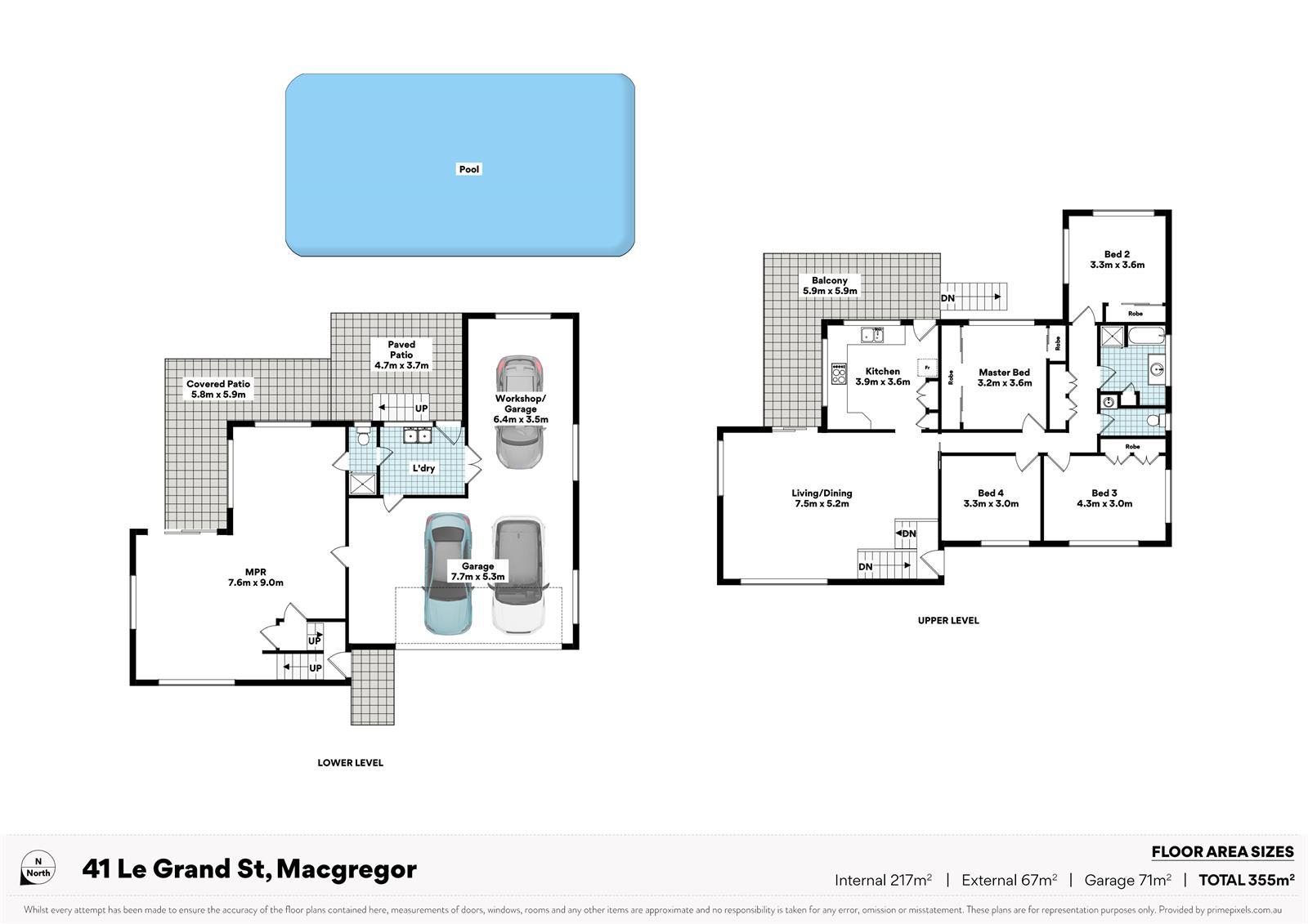 41 Le Grand St MACGREGOR QLD 4109 Floorplan 1