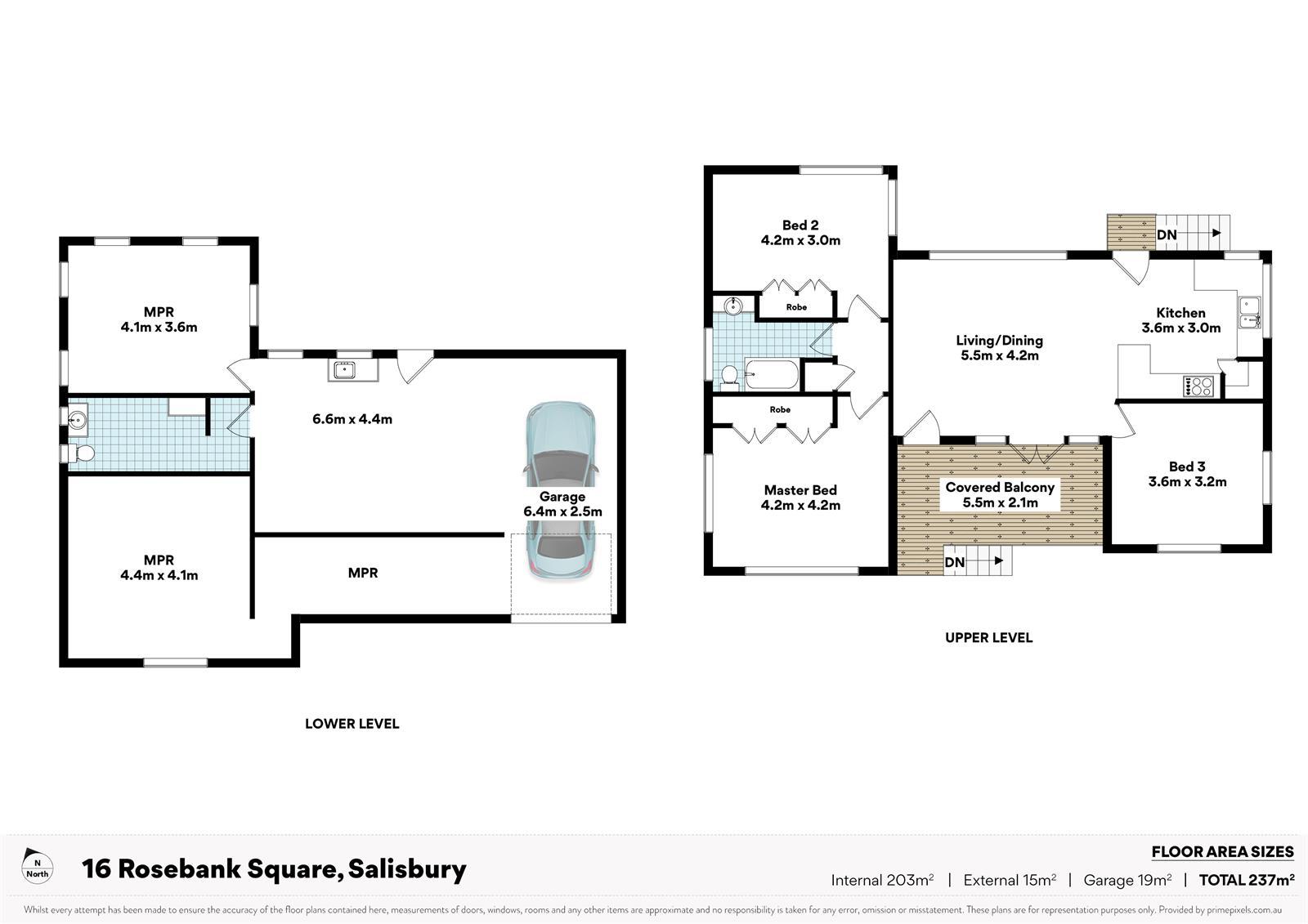 16 Rosebank Square SALISBURY QLD 4107 Floorplan 1
