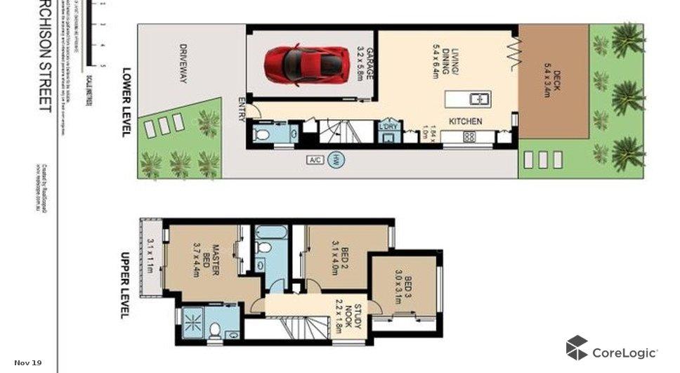 10a Murchison St CARINA QLD 4152 Floorplan 1