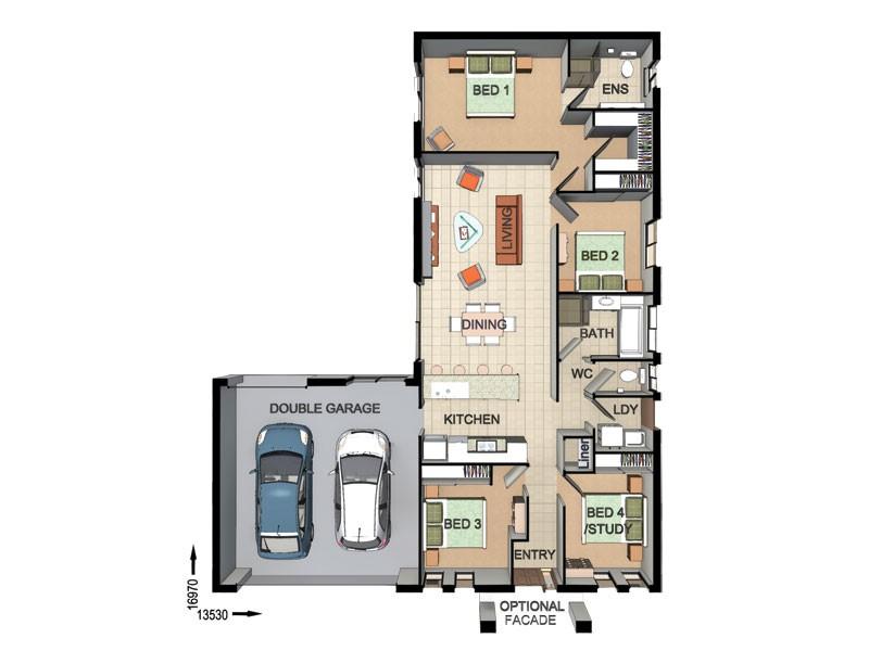 76 Hardy Drive LAIDLEY NORTH QLD 4341 Floorplan 1