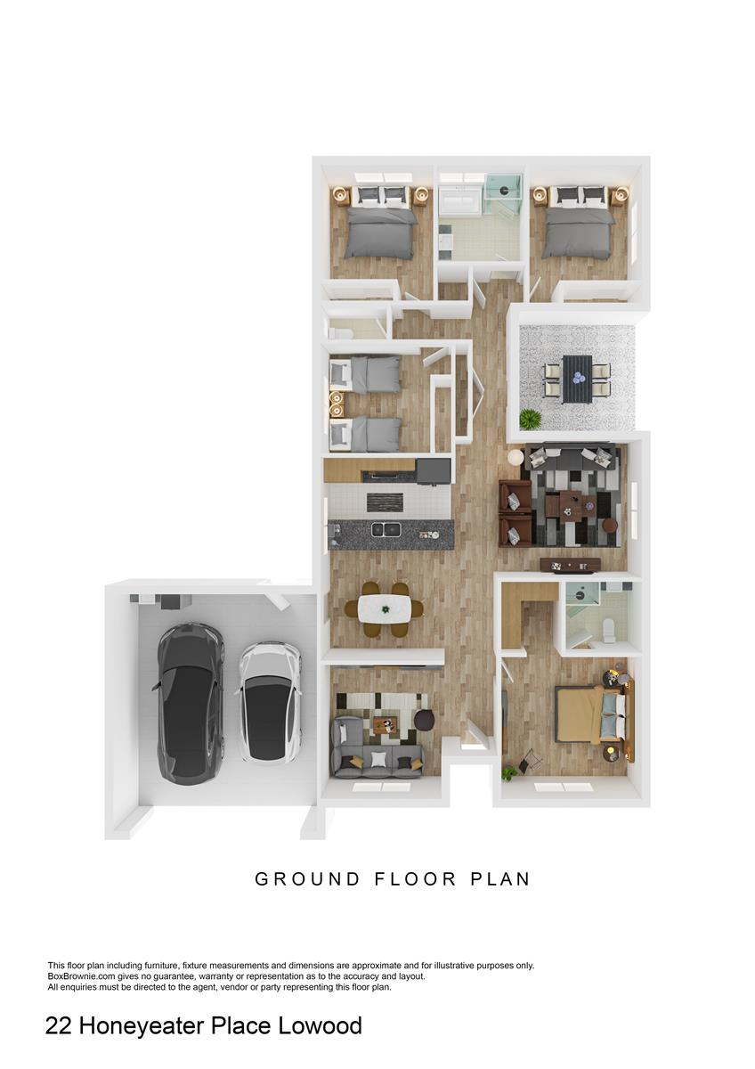 22 Honeyeater Place LOWOOD QLD 4311 Floorplan 1
