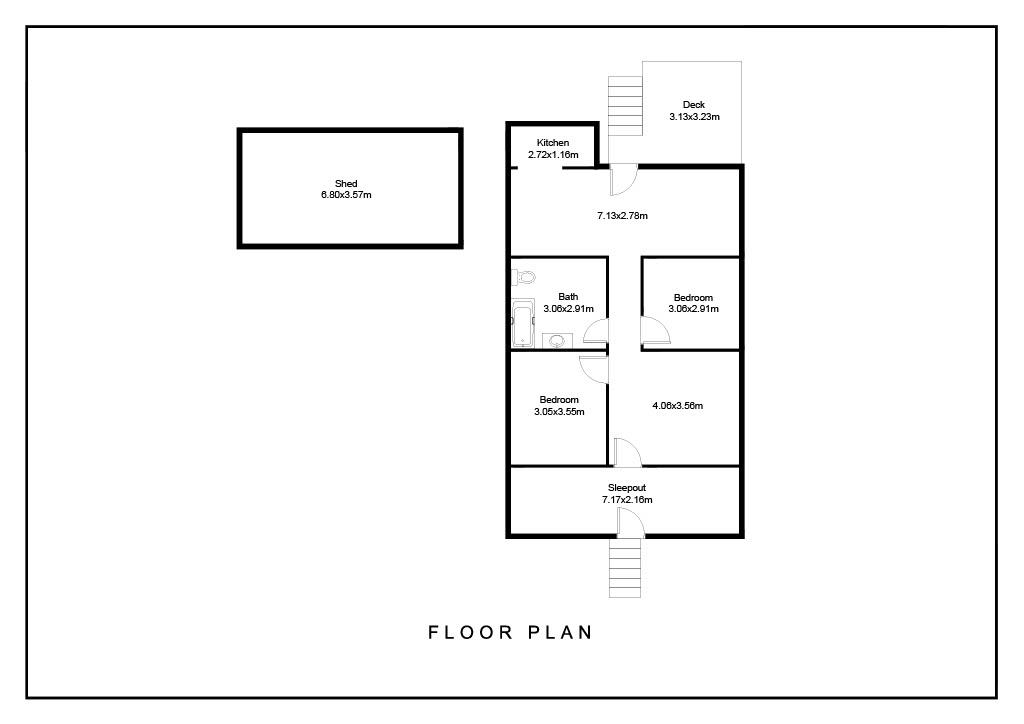 268 Patrick Street Laidley QLD 4341 Floorplan 1