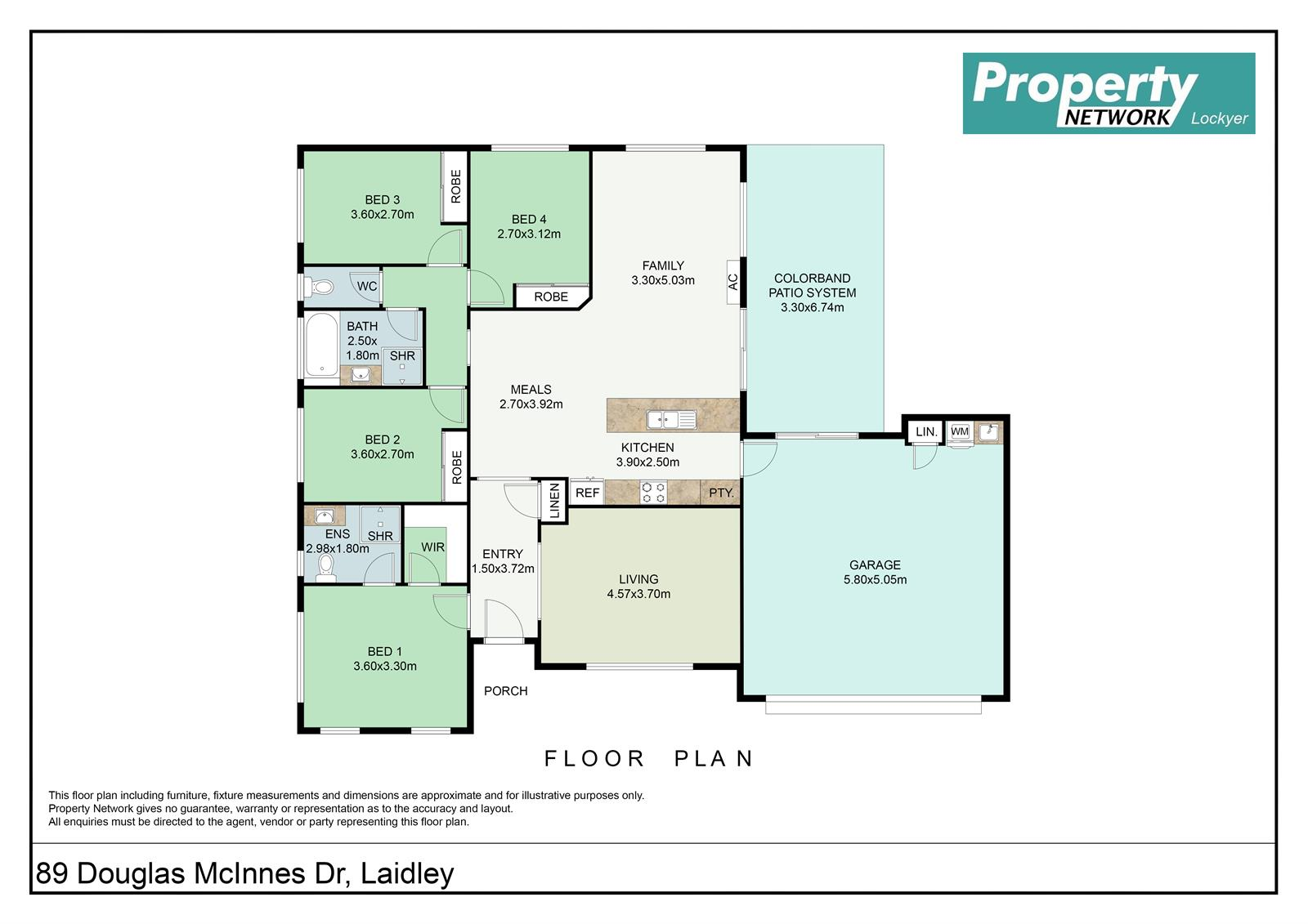 89 Douglas McInnes Drrive LAIDLEY QLD 4341 Floorplan 1