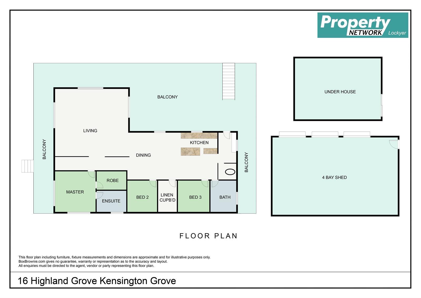 16 Highland Grove KENSINGTON GROVE QLD 4341 Floorplan 1